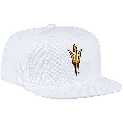 NCAA Arizona State Sun Devils Men's ZNE Flat Brim Snapback (Licensed Ncaa College Cap Hat)