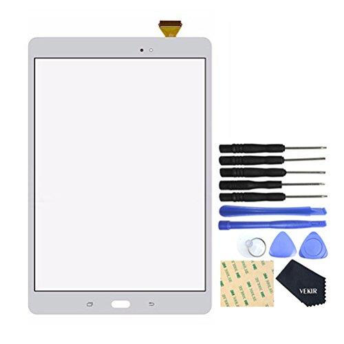 Pantalla táctil blanca SM-T550 para Samsung Galaxy Tab A9.7