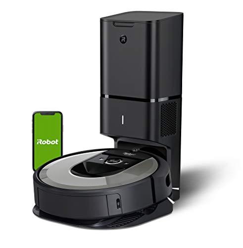 Robot aspirador Wi-Fi iRobot Roomba i7556 – Vaciado automático – Mapea y se adapta a tu hogar – Reconoce objetos…