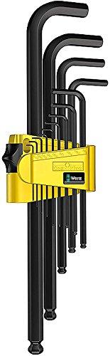 Wera - Wera 950 PKL/13 SZ N Ballpoint Hex Key Set, 13 Pc, Imperial - 5021728002