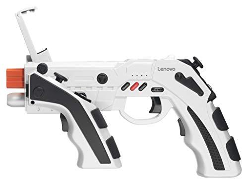 Lenovo Blaster Bluetooth Controller Gun Polar White (Android Devices ONLY)