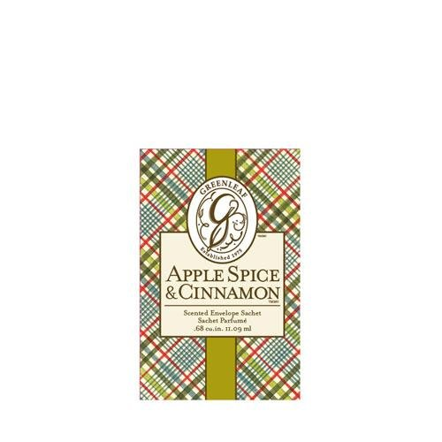 GREENLEAF Small Sachet Apple Spice & Cinnamon
