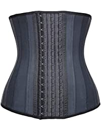 14ed6d7ebf Women s Underbust Latex Sport Girdle Waist Trainer Corsets Hourglass Body  Shaper