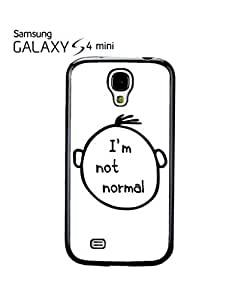 I am Not Normal Nerd Mobile Cell Phone Case Samsung Galaxy S4 Mini White