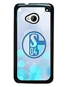 Mewmewtat - HTC One M7 Cell Phone Funda Case Fashion Bright Pattern Schalke 04 Fantastic Impact Resistant Drop Protection Cell Phone Cover HTC One M7 With Boys
