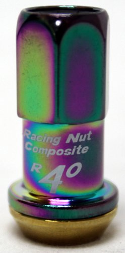 Kics 31876NKCA R40 Revo Neo Chrome (12mm x 1.5 Thread Size) Lug Nut, (Set of - Revo Repairs