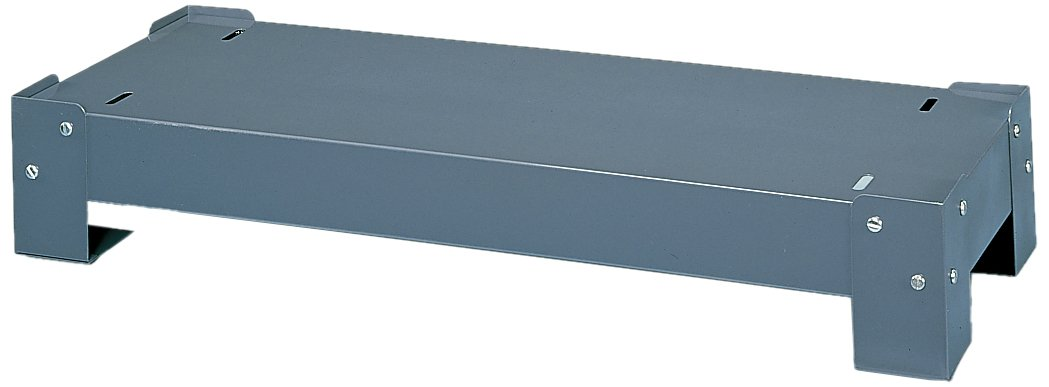 Durham 364-95 Gray Cold Rolled Steel Drawer Cabinet Base, 33-3/4'' Width x 5-3/4'' Height x 12-1/4'' Depth