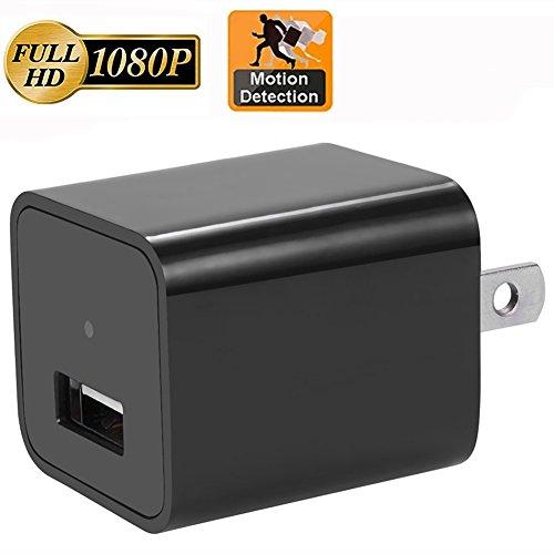 Motion Detection Adapter Camera,CAMAKT Full HD AC Wall Plug