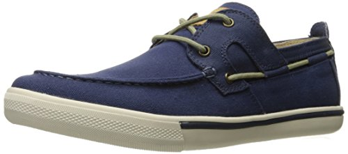 Tommy Bahama Men's Calderon Boat Shoe, Navy, 13 M US