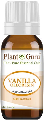 Vanilla Oleoresin Essential Oil 10 ml 100% Pure Undiluted Therapeutic Grade. 10 Fold Extraction