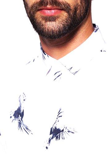 LINDBERGH Herren Hemd - white Gr. M
