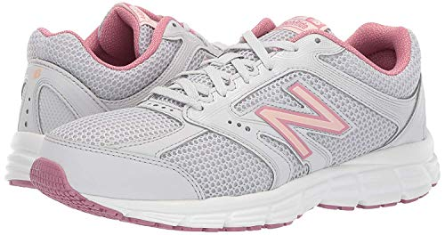 New Balance Women's 460v2 Cushioning Running Shoe , summer fog/oyster pink/mineral rose, 12 W US