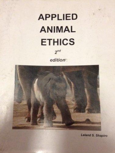 Applied Animal Ethics