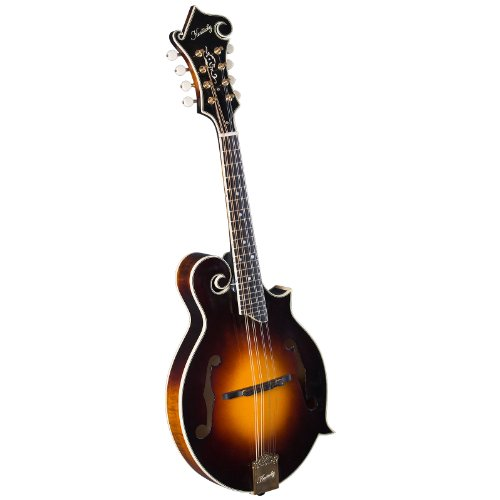 Kentucky KM-650 Artist F Model Mandolin, Sunburst Nitrocellulose Lacquer by Kentucky