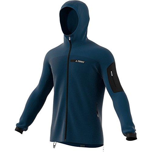 adidas BS2502 Men's Terrex Stockhorn Hoodie, Blue Night - L by adidas