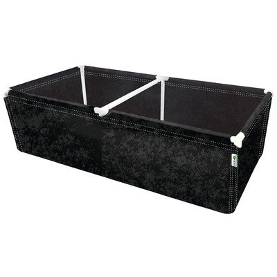 Geopot PL72X36X20 Raised Planter Bed, 72-Inch by 36-Inch by 14-Inch