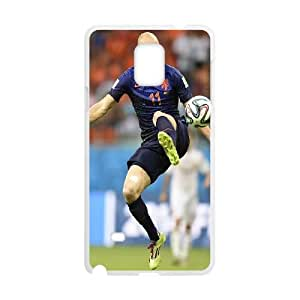 Samsung Galaxy Note 4 Cell Phone Case White Robben World Cup H1J3MS