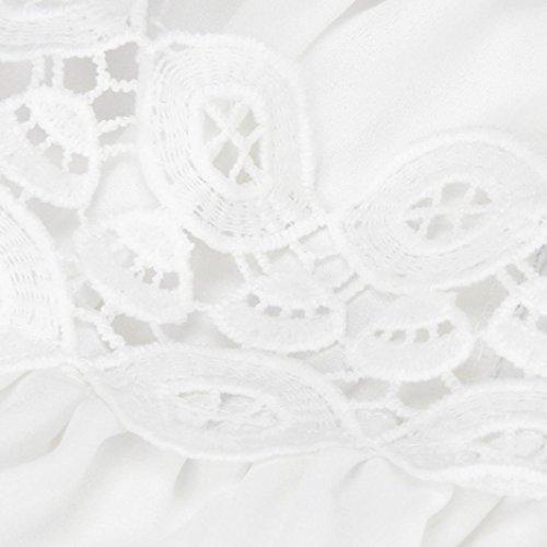 Ouneed® Femme Design Débardeurs Dentelle T-shirt Casual