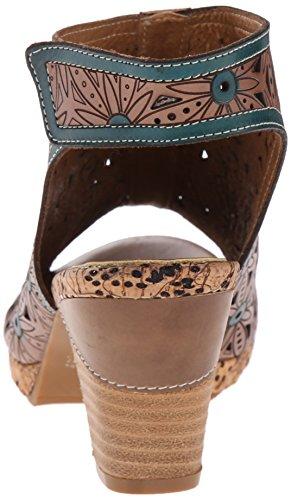 Gray Spring Sandal Marjan Step Multi by Gladiator Women's L'Artiste 5x1R0f6qw