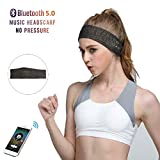 Repokevin Bluetooth Headband Headphones for Sport Running Yoga Wireless Stereo Sleep Headset with Mic for Man Woman Gift