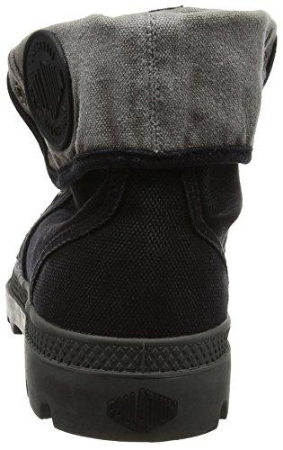 Palladium Herren Us Baggy W H Hohe Sneaker Schwarz (Black)