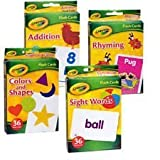 Best Crayola Educational Toys For 4 Year Olds - Crayola Flash Cards 4 Pack Colors & Shapes Review