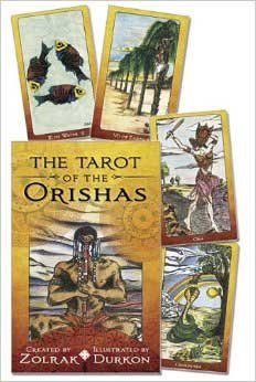 Fortune Telling Tarot Cards Tarot of the Orishas (deck and book) by Zolrak & Durkon by AzureGreen (Image #1)