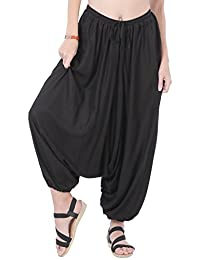 CandyHusky Men Women Summer Baggy Hippie Boho Gypsy Yoga Harem Pants One Size