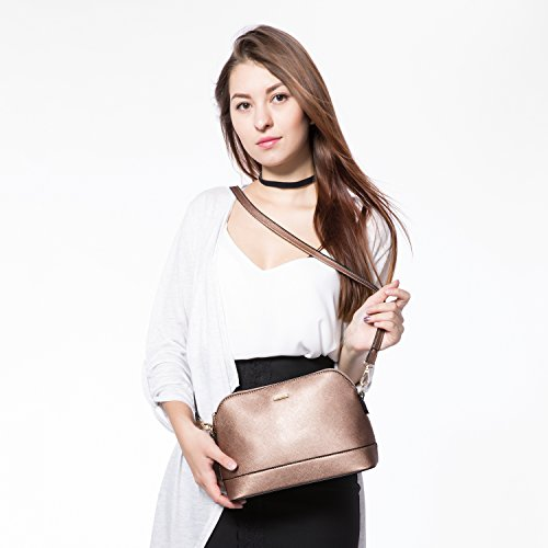 Bronze Set Hobo Satchel Shoulder Handbags Purse Gold 3pcs Women Bags Tote for w1cvxTS