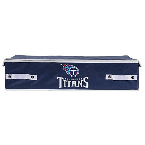 Franklin Sports NFL Tennessee Titans Under The Bed Storage Bins - Large