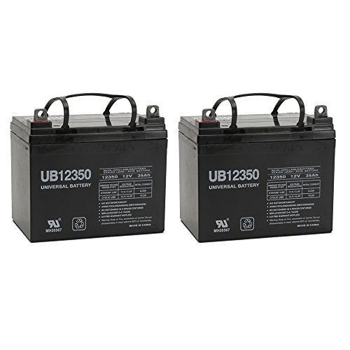UPG UB12350 (Group U1) Battery - Universal Battery - 12V 35Ah - 2 Pack