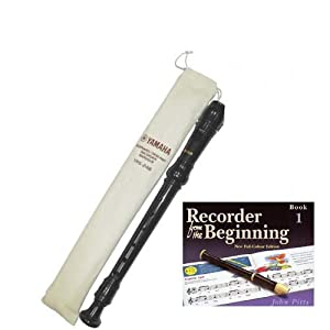 Yamaha Descant YRS24BUK school recorder with Book 1Yamaha Descant YRS24BUK school recorder with Book 1