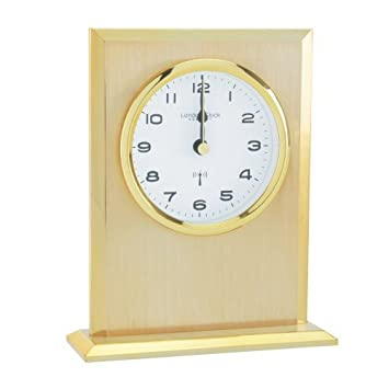 The London Clock Company Lc37030 Funkuhr Poliertes Gold Finish
