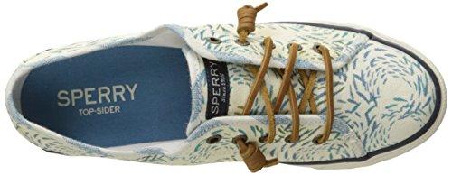 Sperry Damen Seacoast Fish Crcle Sneaker Blau (blu)