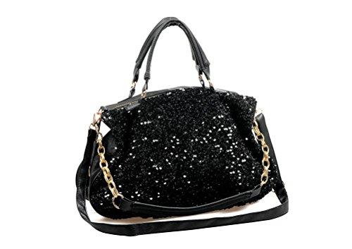 sac paillettes lingerie noir aimerfeel Femme belles en wAHqvt