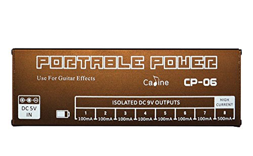 Caline USA CP-06 Portable Power for Caline effect pedals with Lithium battery ship by DHL by Caline USA