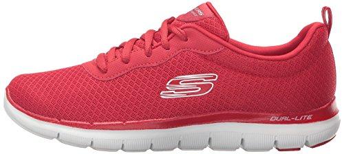 Skechers Calzado Deportivo Para Mujer, Color Rojo, Marca, Modelo Calzado Deportivo Para Mujer 12775S Rojo Rojo