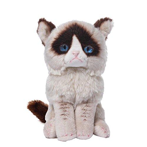Price comparison product image Gund 4046082  Grumpy Cat Beanbag Plush, 5 Inch