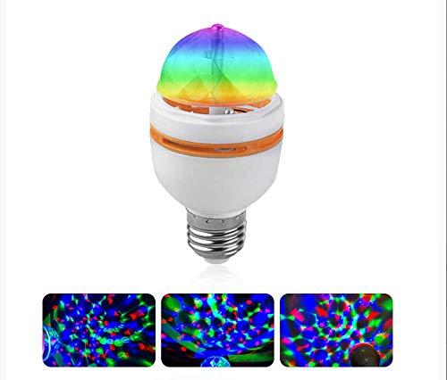 Auto rotación vacaciones lámpara LED RGB E27 3 W 85-265 V ...