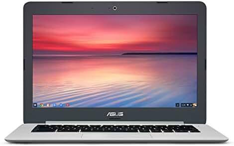 ASUS Chromebook C301SA-DB04 13.3 Inch (Intel Celeron N3160, 4GB, 64GB eMMC, Silver)