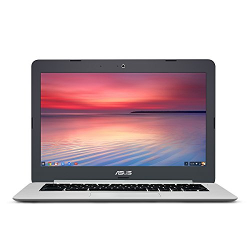 ASUS Chromebook C301SA 13.3 Inch (Intel Quad-Core Celeron, 4GB, 64GB eMMC, Metallic...