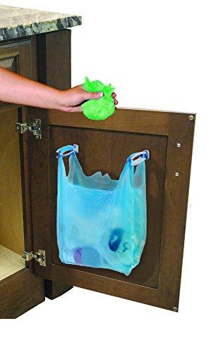 Jokari Trash Bag Hooks Durable Lasting Design Reuses Shopping Bags