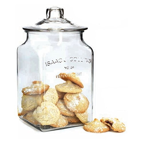 Anchor Hocking Collins Glass - Anchor Hocking IJ Collins Glass 1.5 Gallon Jar with Lid