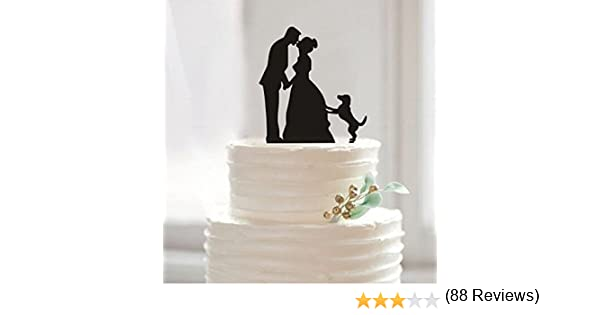Amazon Com Funny Wedding Cake Toppers Custom Wedding Cake Topper