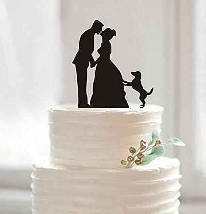 Amazon funny wedding cake toppers custom wedding cake topper funny wedding cake toppers custom wedding cake topper bride and groom cake topper junglespirit Choice Image