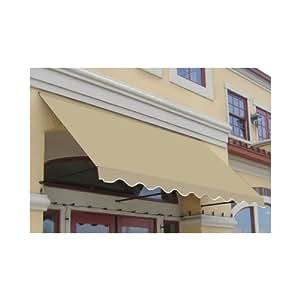 beauty-mark er1030–4T 16'Dallas Retro ventana/entrada para toldo, un tamaño, marrón/marrón
