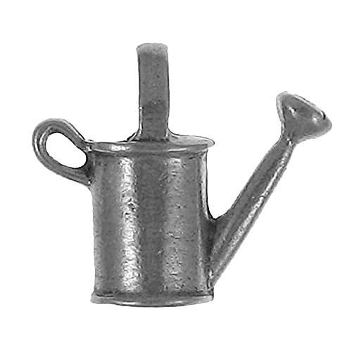 (Watering Can Pewter Lapel Pin)