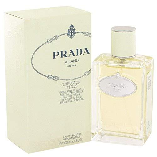 Prada Milano Infusion (Pradà Milano Infusion D'Iris by Pradà Eau De Parfum Spray for Women 3.4 OZ.)