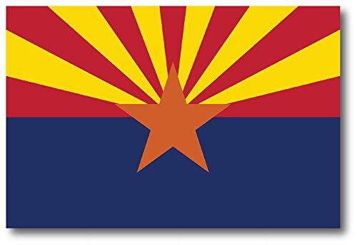 Arizona Car Magnet US State Flag Refrigerator Locker SUV Heavy Duty Waterproof…