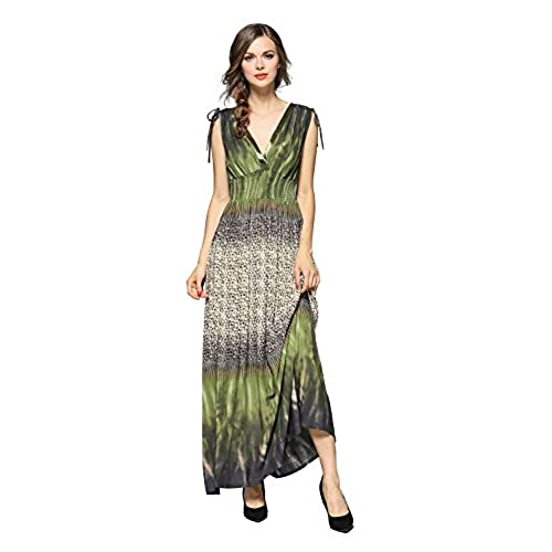 Green and White Prom Dresses: Amazon.com